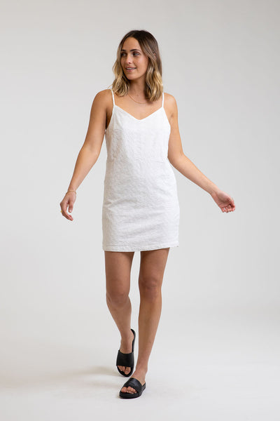 Lulu Dress White