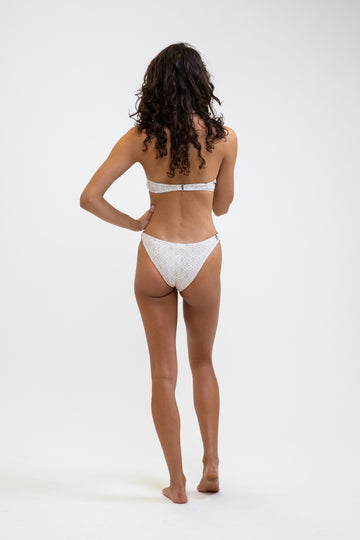 Hana Ring Cheeky Pant White