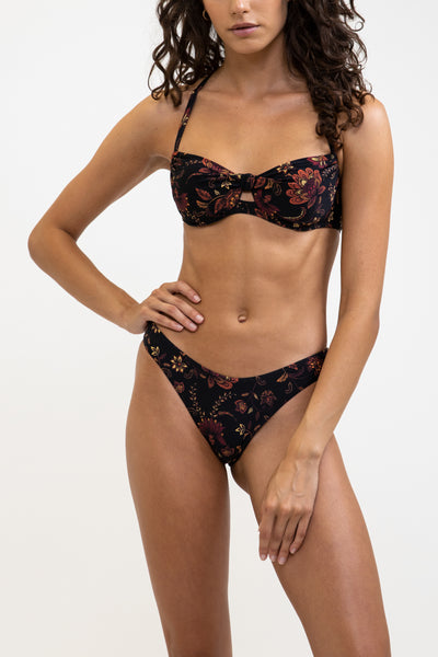 Toluca D/Dd Underwire Top Black