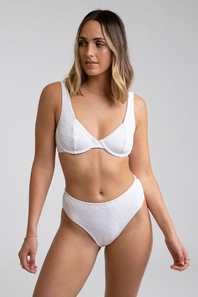 Bella Underwire Top White