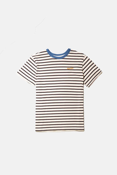 Everyday Stripe T-Shirt Natural