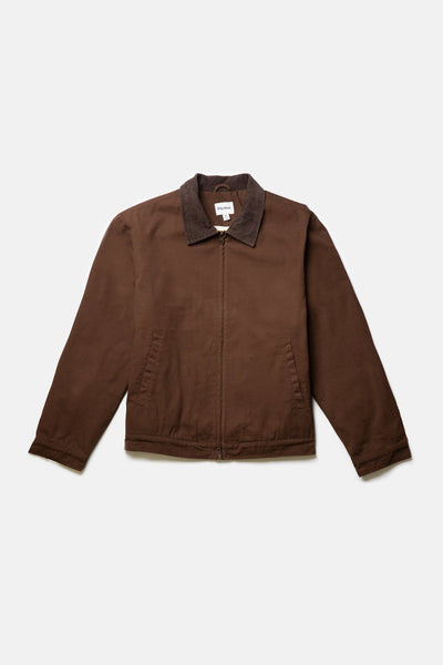 James Jacket Ochre