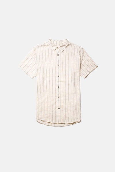 Vacation Ss Shirt Natural