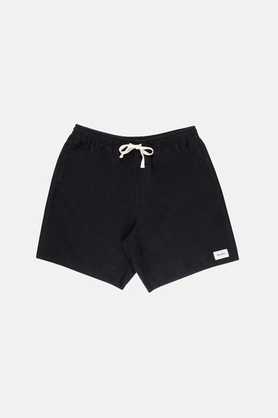 Essential Linen Jam Black