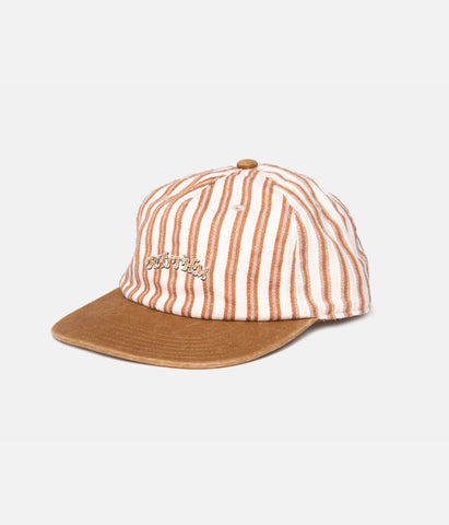 VINTAGE STRIPE CAP NATURAL