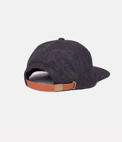STANDARD CAP BLACK HEATHER