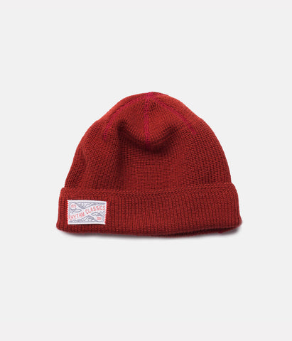 WATCH BEANIE CLASSIC RED
