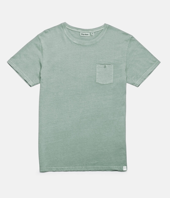 EVERYDAY WASH T-SHIRT VINTAGE TEAL