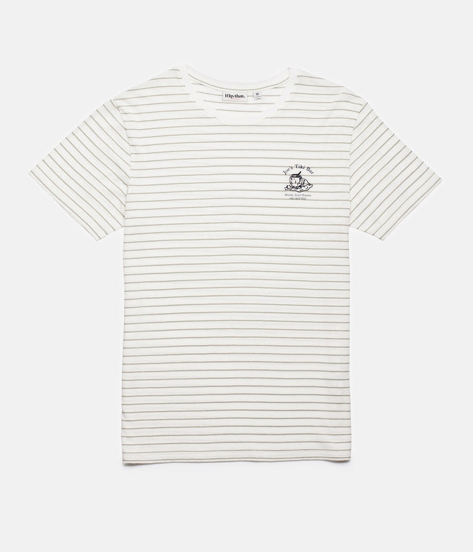 HAPPY HOUR T-SHIRT OLIVE