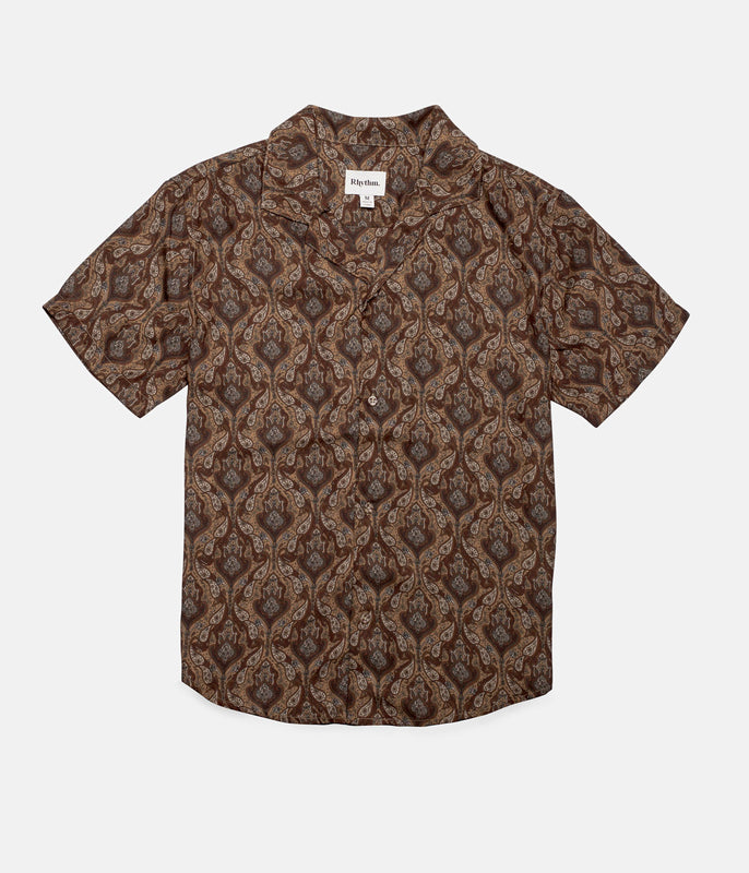 PEYOTE SS SHIRT VINTAGE BROWN