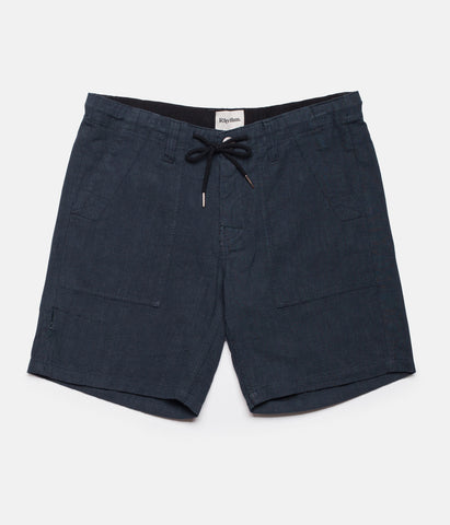 BUNKER WALKSHORT DUSTED NAVY