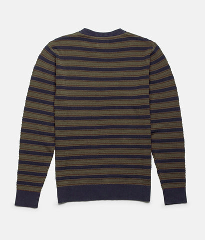 RUGBY STRIPE KNIT VINTAGE NAVY