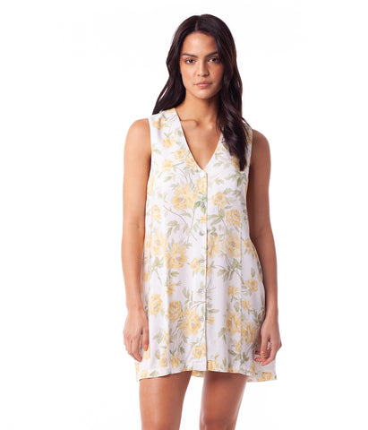 SIENNA DRESS LEMON
