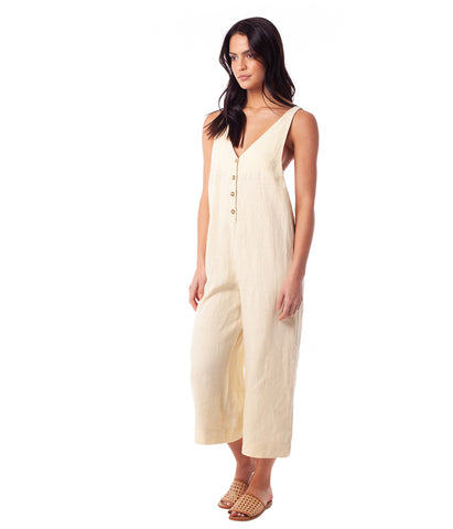 AMALFI JUMPSUIT LEMON