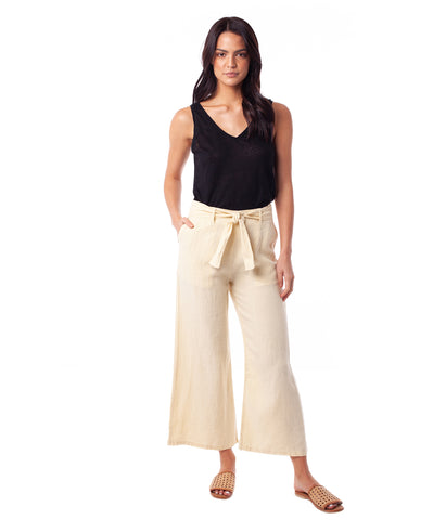 AMALFI PANT LEMON