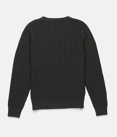 WHISKEY KNIT VINTAGE BLACK