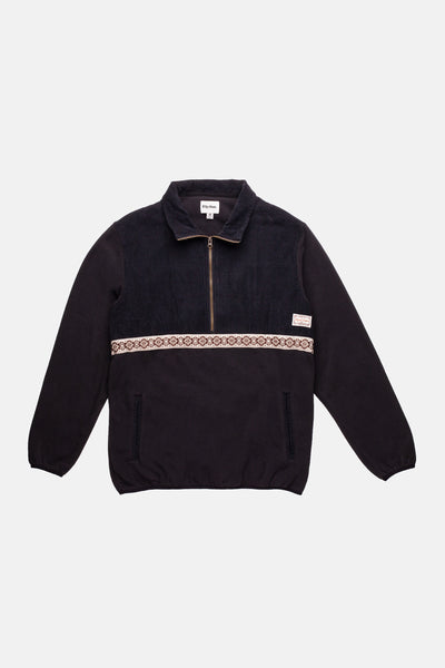 Zephyr Polar Fleece Black