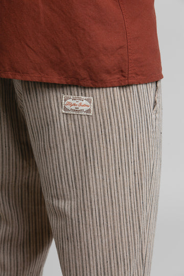 Stripe Sunday Pant Sand