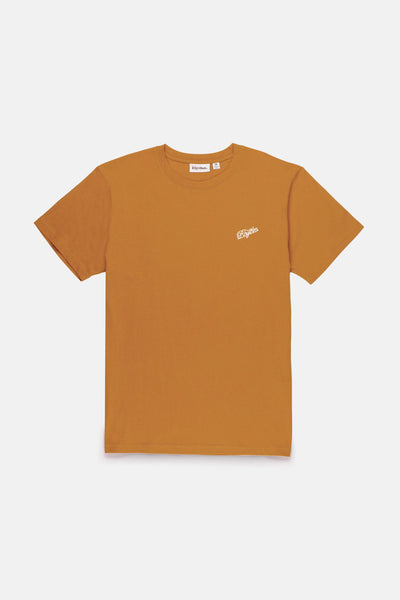 Script T-Shirt Sun Orange
