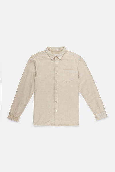 Corduroy Ls Shirt Cream