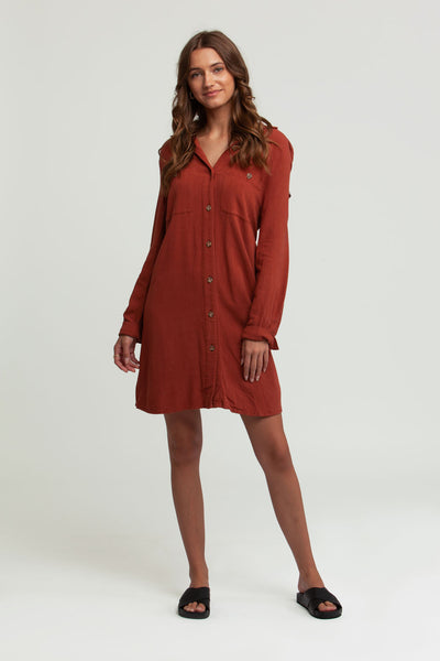 Willow Dress Nutmeg