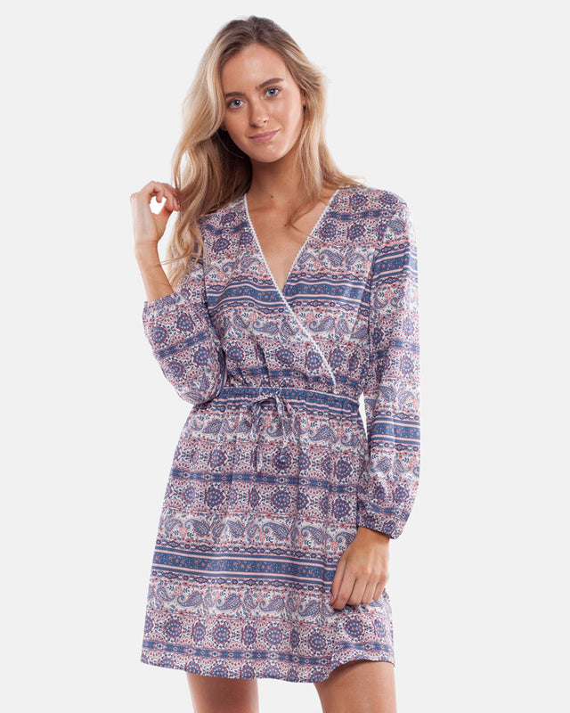 ARABELLA DRESS MULTI