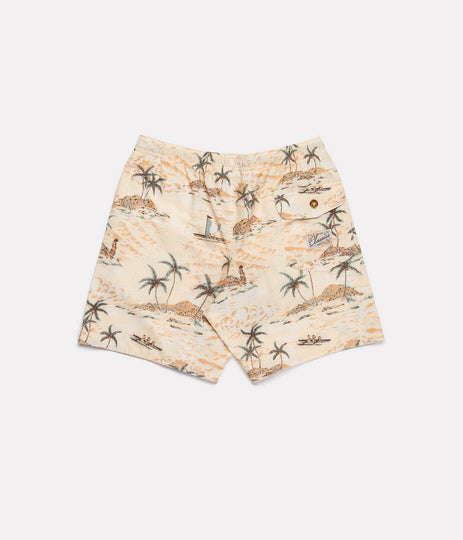 BOYS WIAMEA BEACH SHORT MACADAMIA