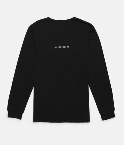 BASE LS T-SHIRT BLACK