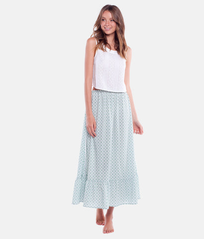 BIARRITZ SKIRT WHITE