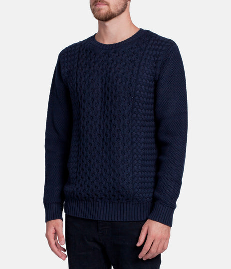 BRUNSWICK KNIT DARK NAVY