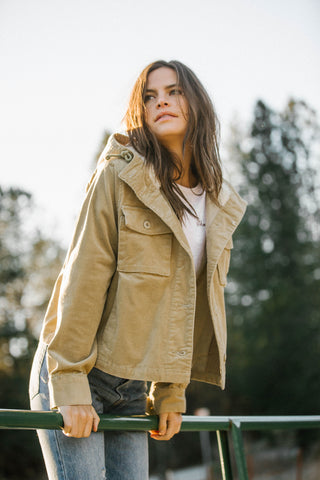 QUEENSTOWN JACKET TAUPE
