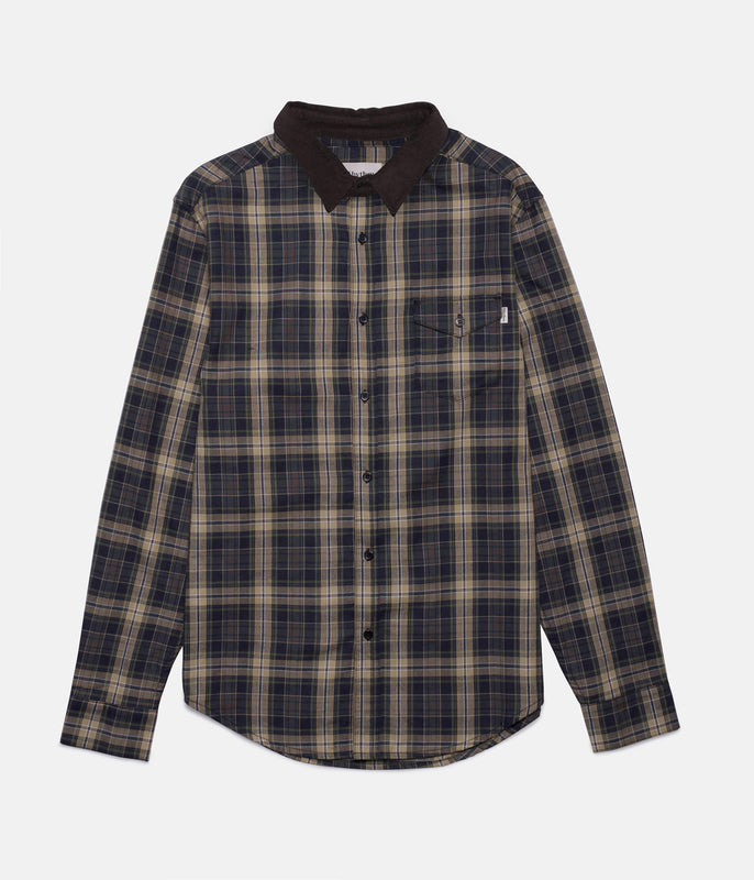 BROADCAST SHIRT DARK OLIVE