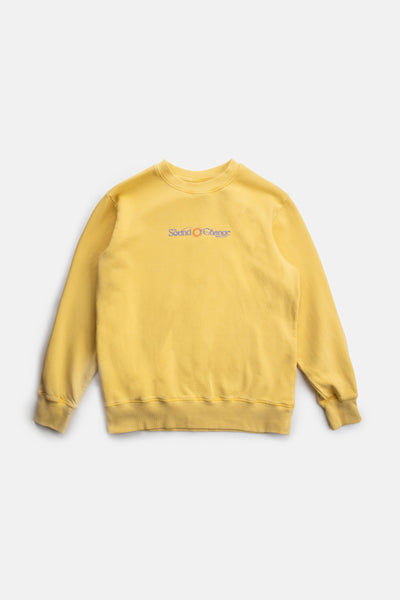 Sound Vintage Fleece Crew Vintage Gold