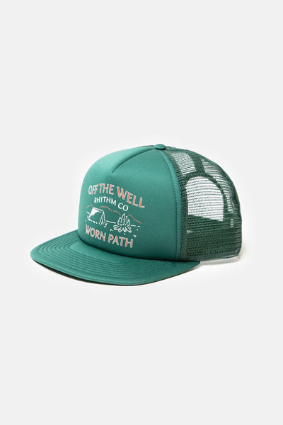 Wilderness Trucker Cap Vintage Green
