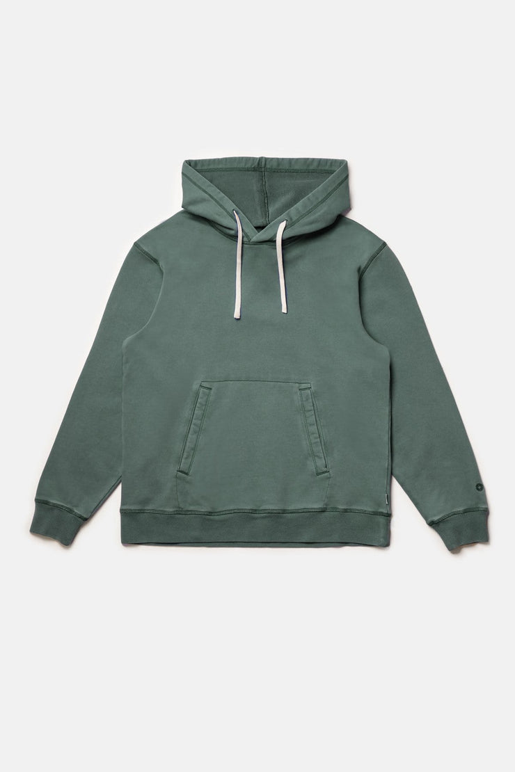 Uni Fleece Hood Light Teal