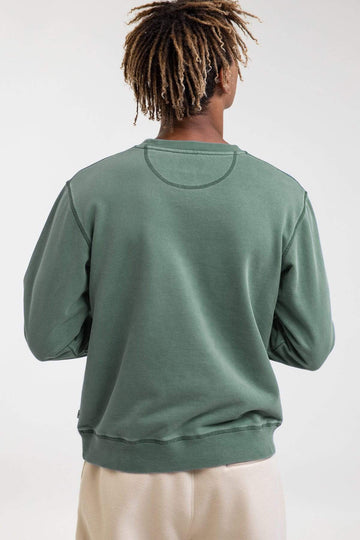 Uni Fleece Crew Light Teal