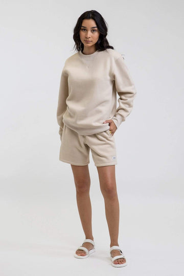 Uni Fleece Crew Birch