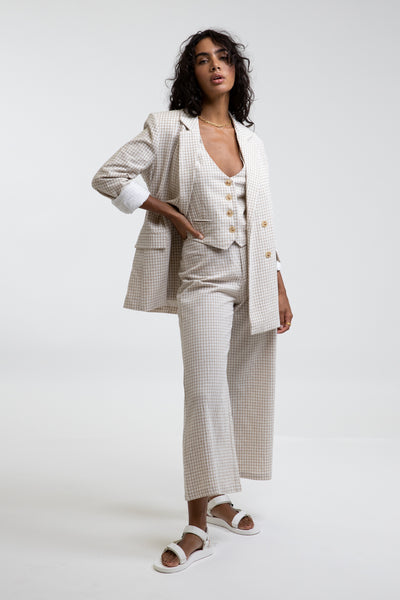 Frankie Summer Blazer Natural