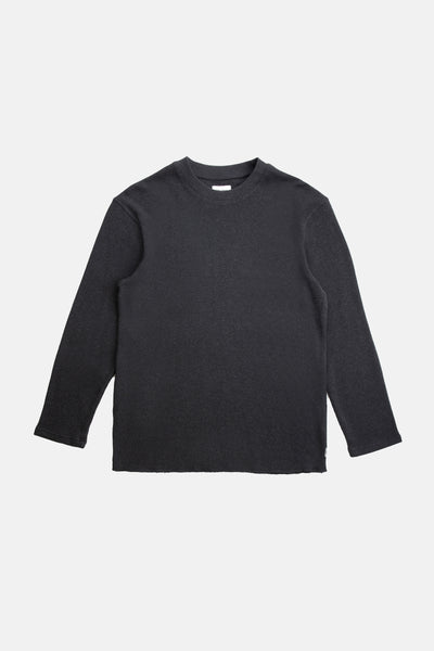 Classic Waffle Knit Vintage Black