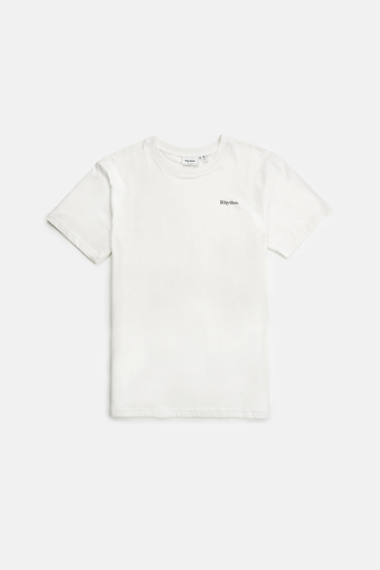 Classic Brand Tee Vintage White