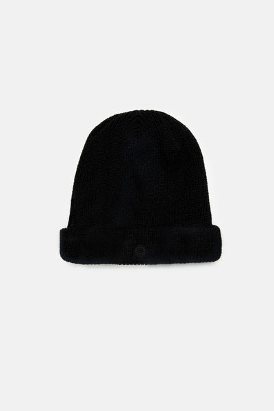 Classic Watch Beanie Vintage Black