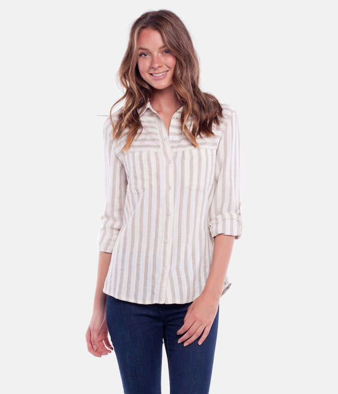 COASTAL SHIRT OATMEAL