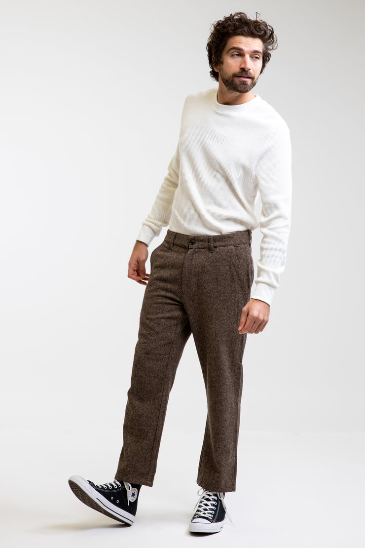 Essential Waffle Knit Natural