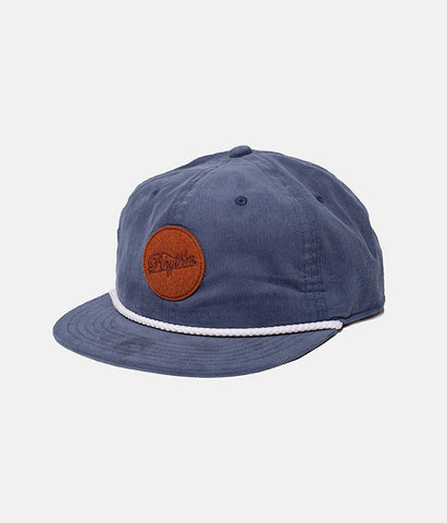 CIRCLE CAP DUSTED BLUE