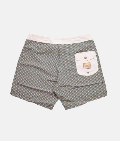 CLASSIC STRIPE TRUNK NAVY