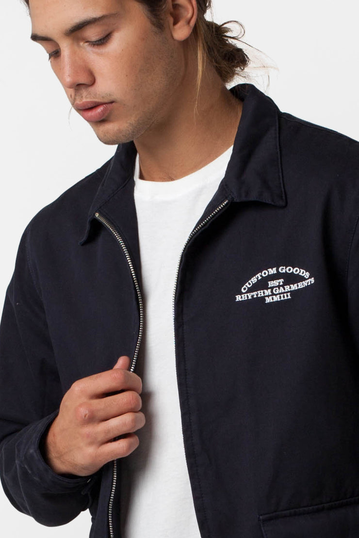 CUSTOM JACKET NAVY