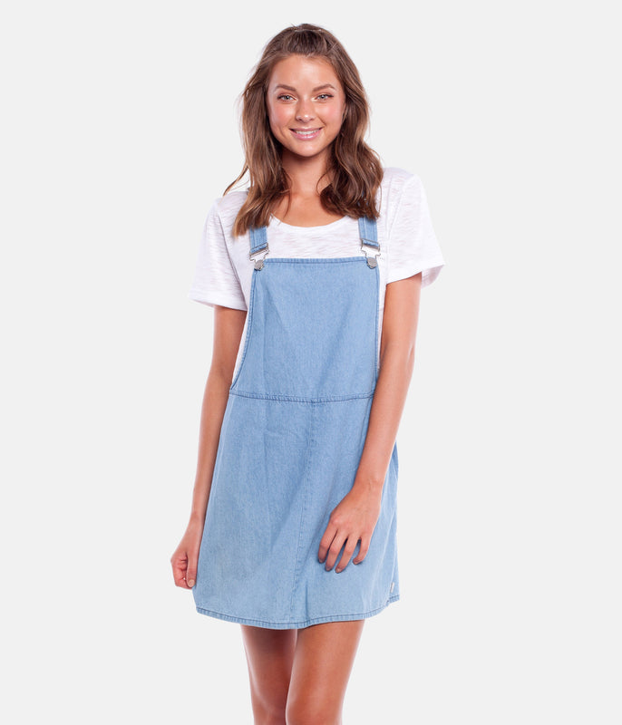 DAZE PINAFORE DENIM