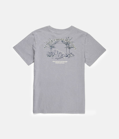 ALOHA BOYS T-SHIRT STONE BLUE