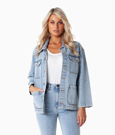 WEST COAST DENIM JACKET DENIM