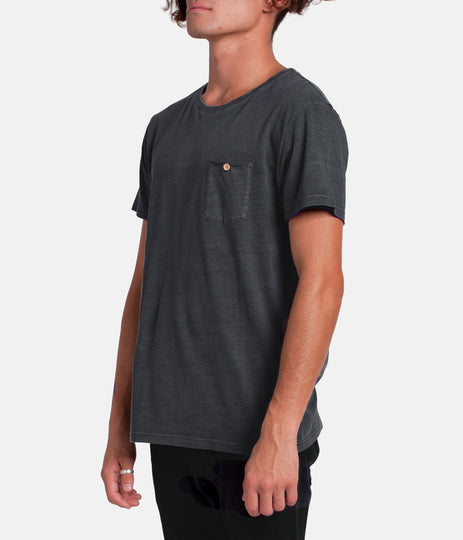 EVERYDAY WASH T-SHIRT CHARCOAL WASH